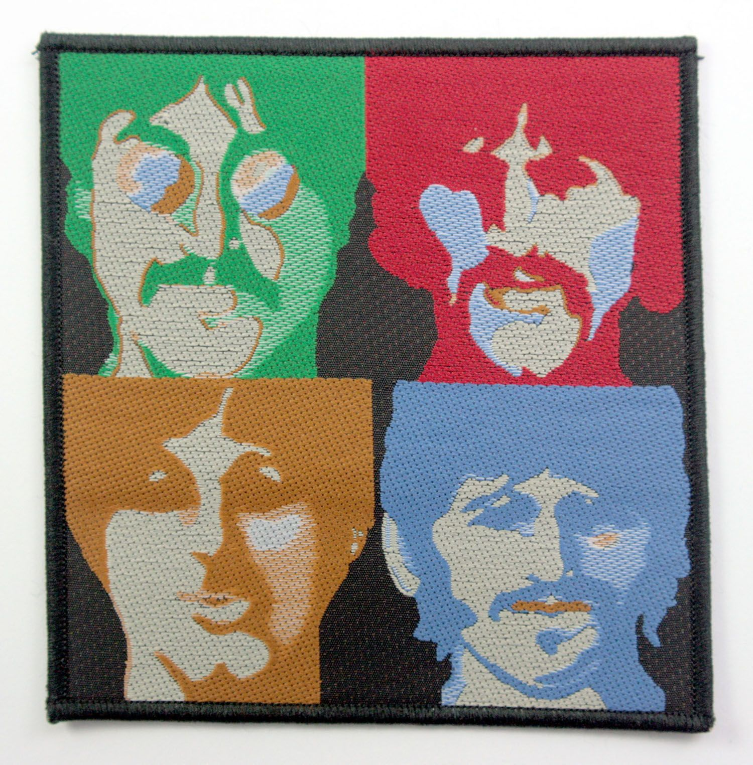 The Beatles Woven Patch