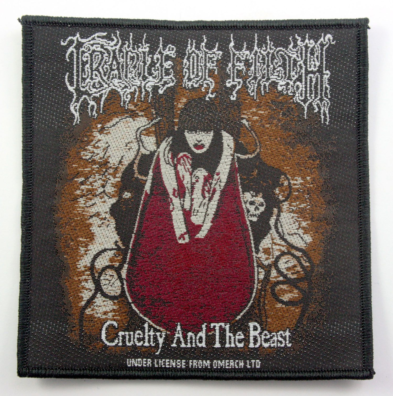 Cradle of Filth Woven Patch