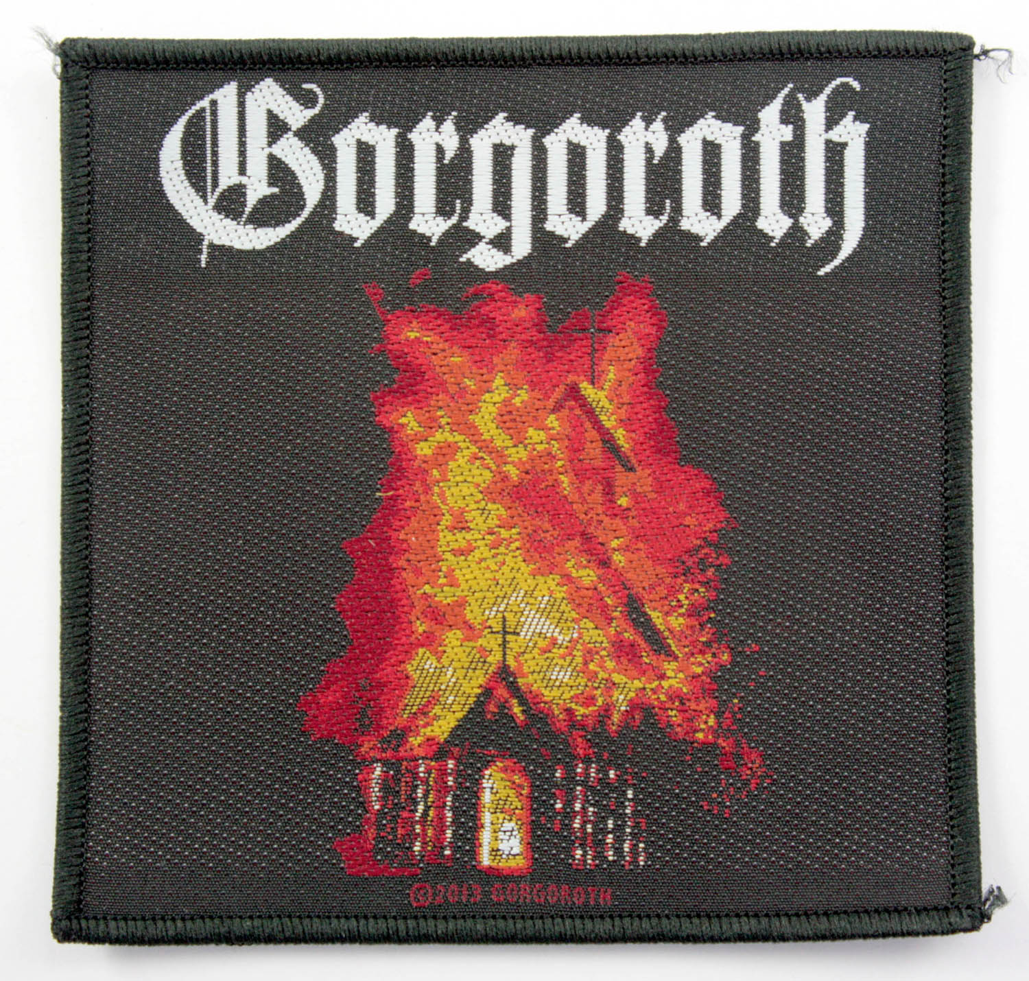 Gorgoroth Woven Patch