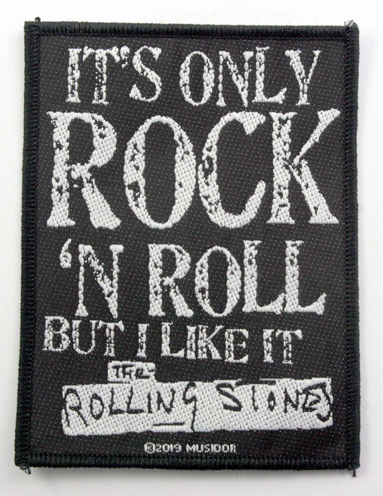 The Rolling Stones Woven Patch