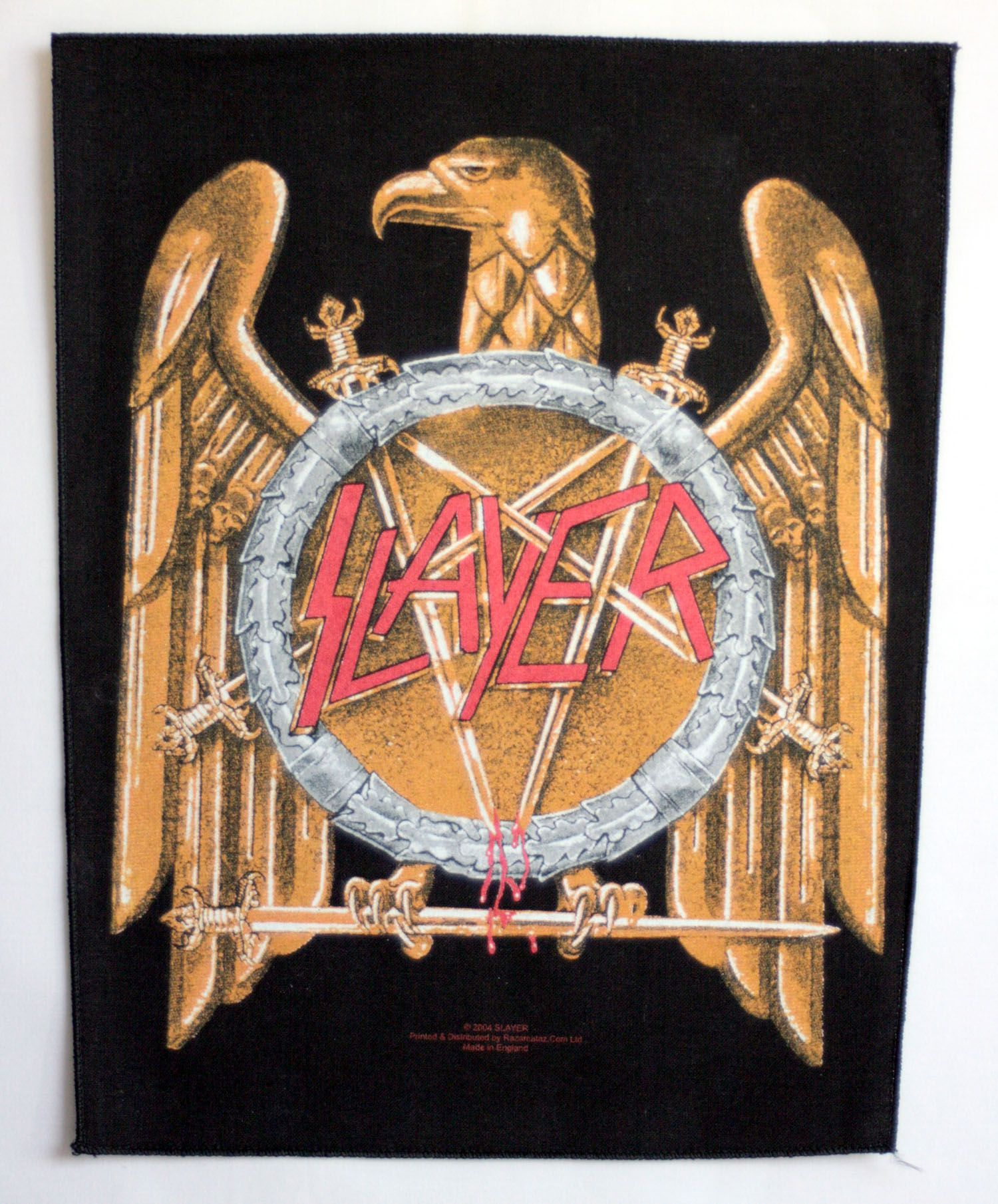 Slayer Giant Backpatch